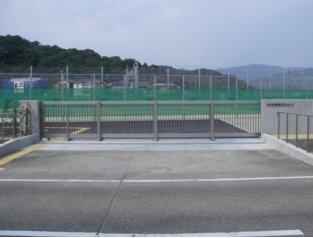 湯川中学校テニスコート整備工事